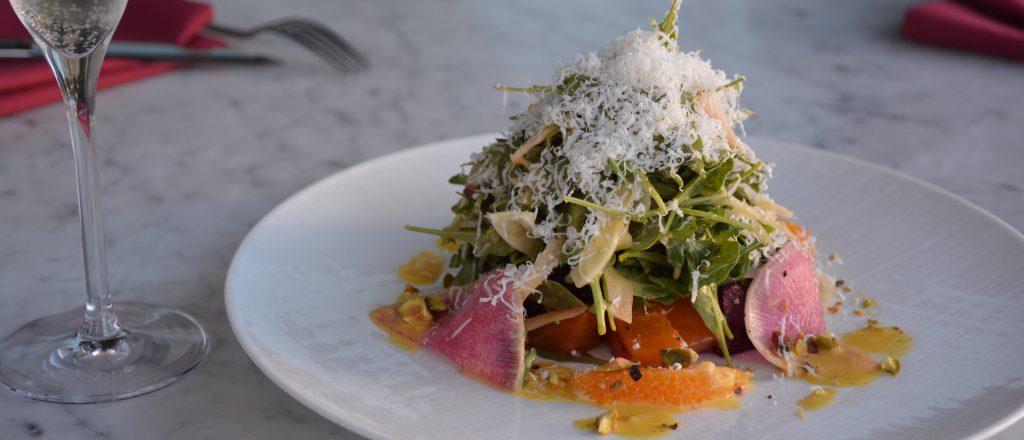 Roasted Beet Salad with Orange Vinaigrette