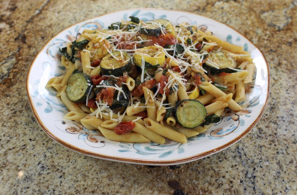 Roasted Squash and Tomato Pasta by Fiesta Seasoning